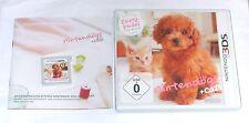 """NINTENDO 3DS SPIEL """" NINTENDOGS Zwergpudel + Cats """" Deutsche Kaufversion"""
