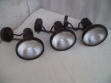 Ancien vintage 3 spots projecteur Concord jumbo avec ampoule Mazda