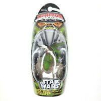 Star Wars Titanium MicroMachines Dewback with Storm Trooper Unopened!