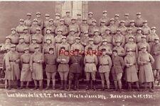LES BLEUS DE LA E. T. 60 R.I. VIVE LA. CLASSE 30/2. BESANCON 4.11.1931 - RPPC
