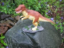 Dinosaur Figurine 5 Inch Red & Yellow