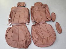 2001 2002 Chevy Silverado Ext cab King Ranch Katzkin leather seat cover set