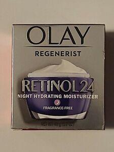 Olay Regenerist Retinol 24 Night Moisturizer Fragrance Free 1.7 oz (48g)