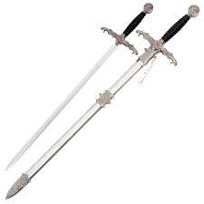 Sword Templar Knights Flaming Dragon