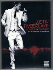 JUSTIN TIMBERLAKE new 2 dvd FUTURESEX LOVESHOW - LIVE FROM MADISON SQUARE GARDEN