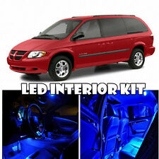 For 01-07 Dodge Grand Caravan LED Light Interior Deal Package Kit Qty = 18 Blue