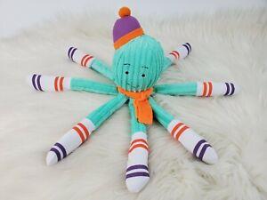 "Monkeez & Friends Arthur Octopus Mint Green Plush 12"""