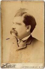 REPUBLICAN SENATOR DWIGHT SABIN FROM MINNESOTA 1883-1889 CABINET PHOTO