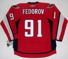 SERGEI FEDOROV WASHINGTON CAPITALS REEBOK NHL PREMIER HOME JERSEY NEW WITH TAGS