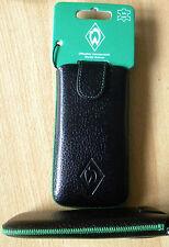 Handytasche Tasche Hülle Werder Bremen Leder z.B. Samsung Galaxy S3 S4 A3 A310