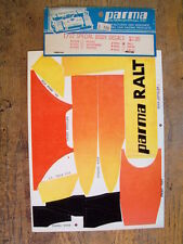 Parma 2553 1/12 1:12 Vintage Decal Sheet RALT - Kyosho Axis AE RC12 Cox Bolink
