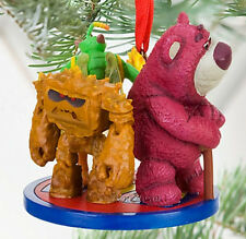 NEW 2010 Disney Store Toy Story 3 LOTSO BEAR CHUNK TWITCH Christmas Ornament