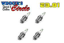 E3 Spark Plugs E3.81 - Set of 4 Spark Plugs