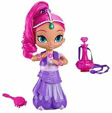 """Fisher-price Shimmer & Shine Wish & Spin Shimmer Doll 12"""" New"""