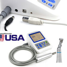 Dental Root Canal Treatment Electric Endo Motor Finder 1:1 Contra Angle Battery