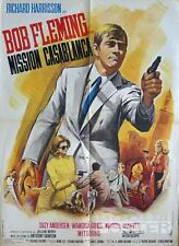 KILLERS ARE CHALLENGED - 007 - SPY - CASABLANCA - MASCII - ORIGINAL MOVIE POSTER