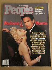 1990 July 2 PEOPLE Magazine Madonna and Warren (K1)