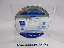 GOD OF WAR 2 II SCES-54206 (SONY PS2) PROMO VERSION - PAL VERSION
