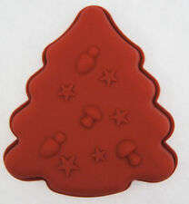 Christmas Tree Silicone Mold for Fondant, Gum Paste, Chocolate, Crafts NEW