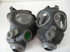 2 x Scott M95 Full Face Respirator NBC Gas Mask Swat Military Police Prepper