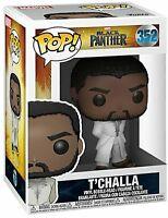 Funko POP! Vinyl Marvel Black Panther King T'Challa White In Robe #352