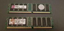 Kingston 2x RAM G 1GB Hynix DDR 266 MHz PC-2100 ECC REG CL2,5 Neuwertig