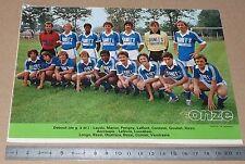 CLIPPING POSTER FOOTBALL 1980-1981 D2 OLYMPIQUE AVIGNON