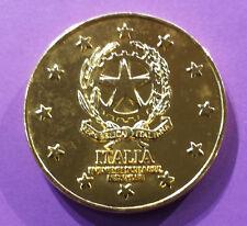 Médaille de table sur l'Europe des 12 (Italie)