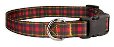 New listing Country Brook Design® Deluxe Buffalo Plaid Dog Collar - Large
