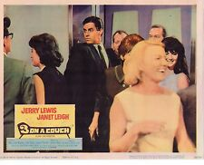 """Jerry Lewis Mary Ann Mobley 3 On A Couch Original 11x14"""" Lobby Card LC481"""