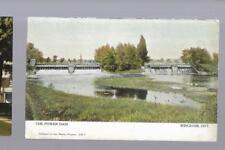 pk34047:Postcard-The Power Dam,Wingham,Ontario