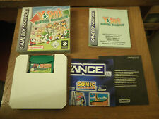 YOSHI'S UNIVERSAL GRAVITATION - GAME BOY ADVANCE - JEU BOITE ET NOTICE