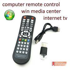 Computer Remote Control Wireless USB IR Laptop PC/TV Desk Top to TV