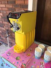 Soft Serve Ice Cream Frozen Yogurt Machine Yellow