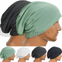 301fashion Men Jersey knit beanie hat slouchy baggy cool thin summer skullcap