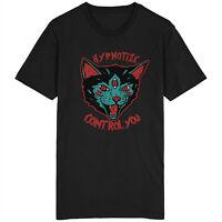 Hypnotize Control You Cat T Shirt Tattoo Rockabilly Future Kitty Kitten Five Eye