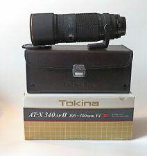 Tokina AT-X 340 AF II 100-300 F 4 SD, für Nikon AI-AF