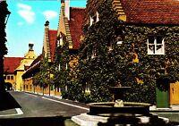 Augsburg , Fuggerei , Ansichtskarte , ungelaufen