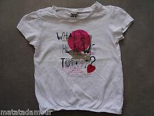 T-shirt blanc manches courtes Tape à l'oeil Taille 3 ans / 96cm