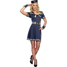 Sailor  Lady Adult Women Costume Halloween Size Large 12-14