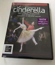 Prokofiev Cinderella DVD Dutch National Ballet Tsygankova & Golding 2013-Opus Ar