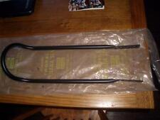 Vintage NOS Troxel Black Axle Mount Sissybar For Early BMX Bike with Loaf Seat