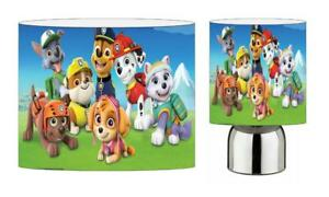 PAW PATROL choose from Light Shade , Touch Lamp or Bundle