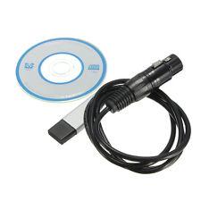 USB zu DMX Computer Controller Dimmer Interface Adapter DMX512 für PC & Laptop