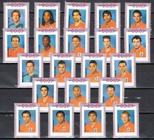 Nederland Complete serie uit 2420-F-1/2 +2420  WK Voetbal 2006 WC soccer