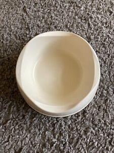 Cream BECO Eco-Friendly Pet Bowl For Dog Cat