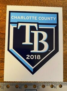 Tampa Bay Rays - 2018 Spring Training New Label - Charlotte County Sports Park