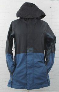 Bonfire Anorak Snowboard Jacket Women's Medium Black / Blue New