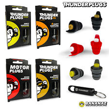 Thunderplugs Musician Ear Plugs Music Filter Earplugs - Music Duo Motor Pro NEW