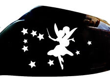Fairy Stardust Car Sticker Wing Mirror Styling Decals (Set of 2), White